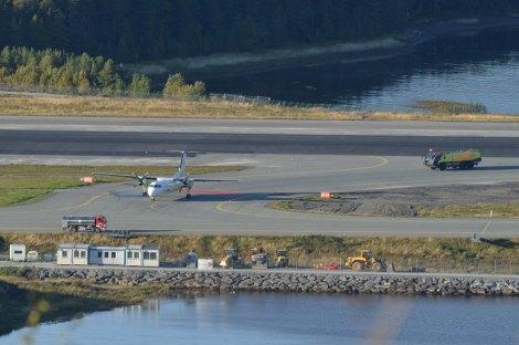 Widerøe Dash 8 Q300 Nødlanding