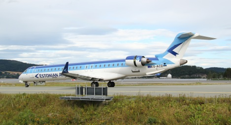 Estonian Air CRJ900