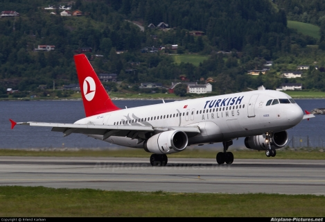 Turkish Airlines Airbus A320