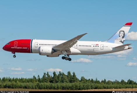 Norwegian Boeing B787
