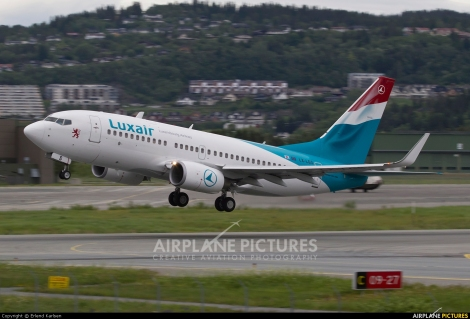 Luxair Boeing B737-700