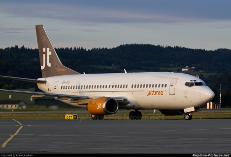 JetTime Boeing B737-300