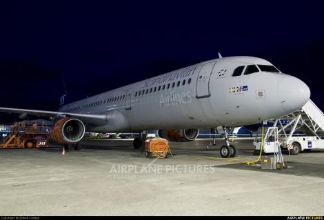 SAS Scandinavian Airlines Airbus A321