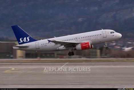 SAS Scandinavian Airlines Airbus A319