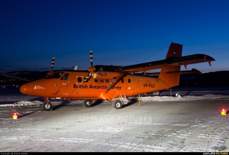British Antarctic Survey de Havilland Canada DHC-6 Twin Otter