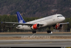 SAS Scandinavian Airlines Airbus A320