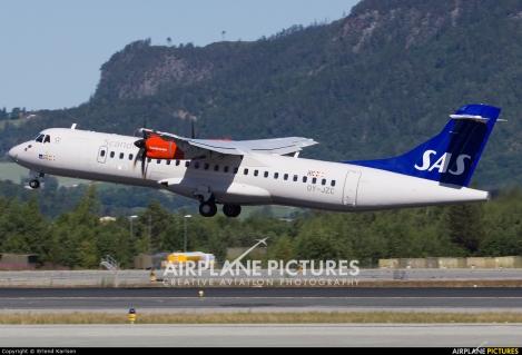 SAS Scandinavian Airlines Jettime ATR72-600