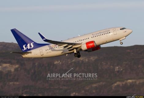 SAS Boeing B737-700