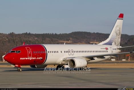 Norwegian Air Shuttle Boeing B737-800