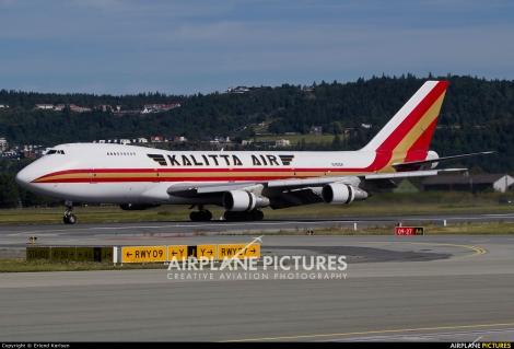 Kalitta Air Boeing B747-200F