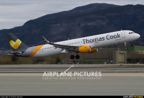 Thomas Cook Airlines Scandinavia Airbus A321SL