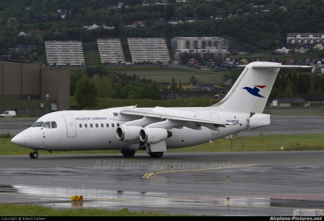 Atlantic Airways BAe 146-200 AVRO RJ85