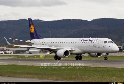 Lufthansa CityLine Embraer E190