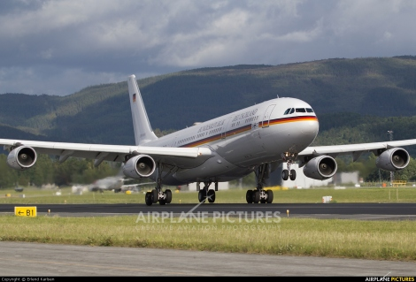 German Air Force Airbus A340-300