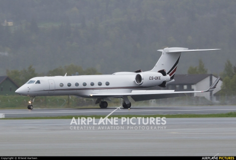 Netjets Europe Gulfstream Aerospace G550