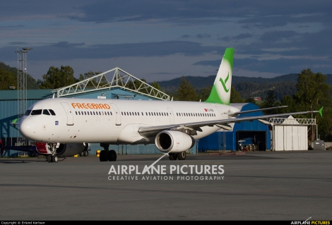 Freebird Airlines Airbus A321