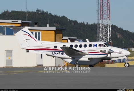Bergen Air Transport Beechcraft 200 King Air