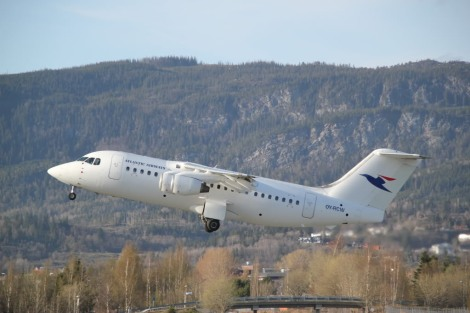 Atlantic Airways BAe AVRO RJ85