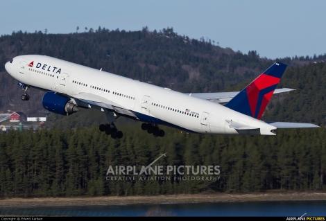 Delta Air Lines Boeing B777-200ER