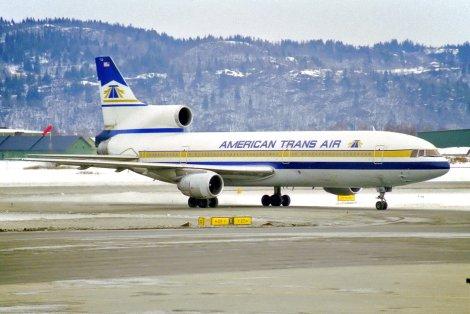 American Trans Air ATA Lockheed TriStar L-1011-1