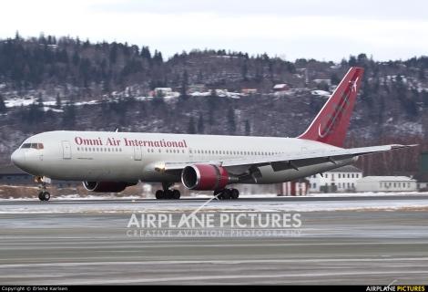 Omni Air International Boeing B767-300ER