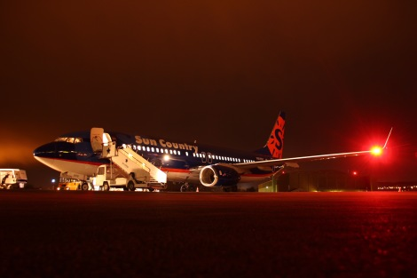 Sun Country Airlines Boeing B737-800