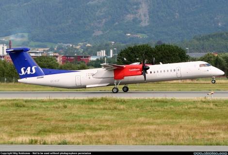 SAS Commuter Bombardier Dash 8-Q400
