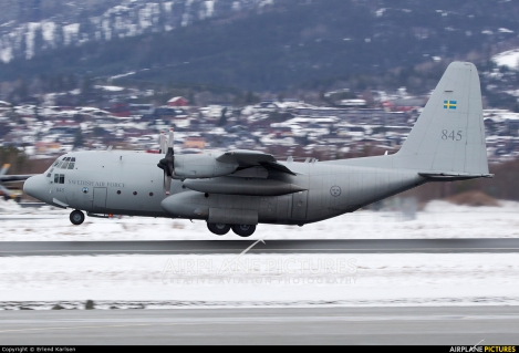 Swedish Air Force Lockheed C-130H
