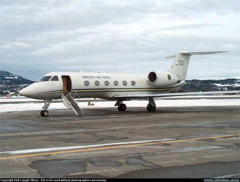 Swedish Air Force Gulfstream Aerospace G-V
