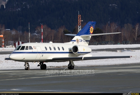 Belgian Air Force Dassault Falcon DA-20