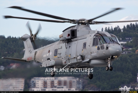 Royal Navy Augusta Westland AW101