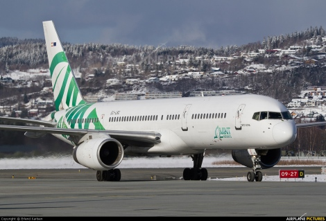 Mint Airways Boeing B757-200