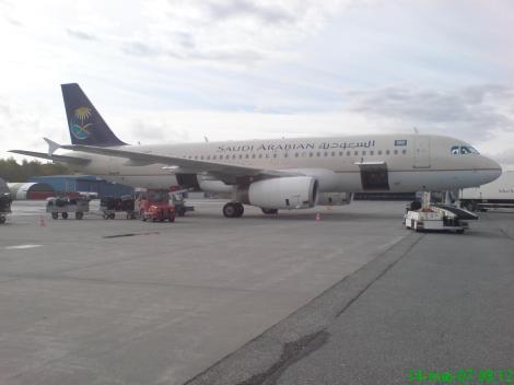 Saudi Arabian / Atlasjet Airbus A320