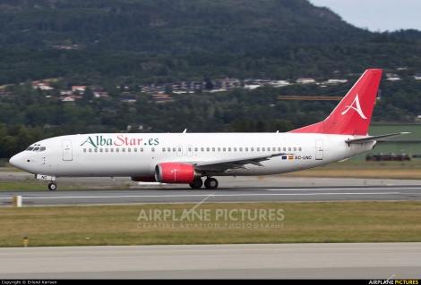 AlbaStar Boeing B737-400