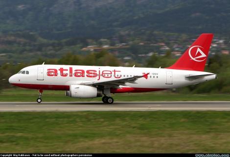 Atlasjet Airbus A319