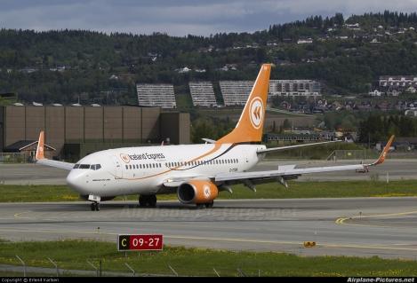 Iceland Express Boeing B737-700