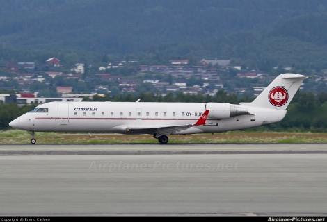 Cimber Air Candair CRJ200
