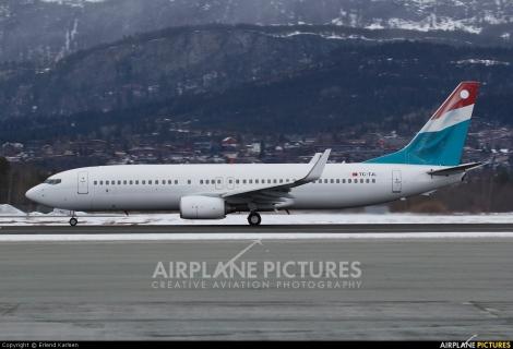 Cordon Airlines / Luxair Boeing B737-800