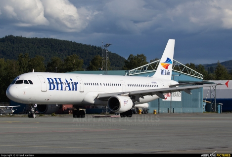Balkan Holidays Airlines Airbus A321