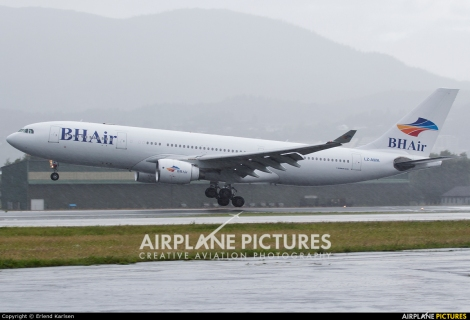 Balkan Holidays Airlines Airbus A330-200