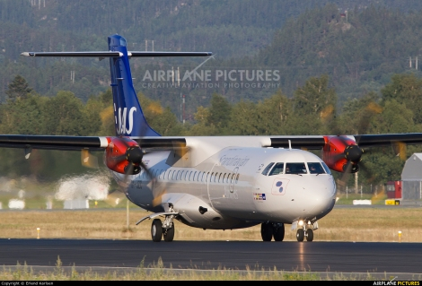 JetTime / SAS Scandinavian Airlines ATR72-600