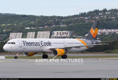 Thomas Cook Airlines Scandinavia Airbus A321