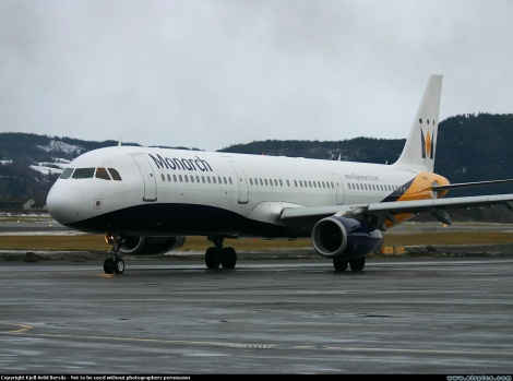 Monarch Airlines Airbus A321