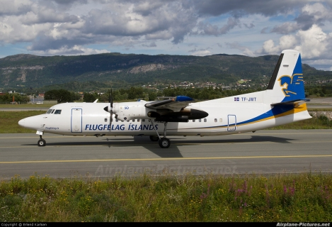 Flugfélag Íslands - Air Iceland Fokker F50