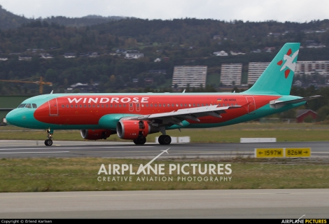 Windrose Air Airbus A320