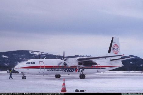 NAS Fokker F50
