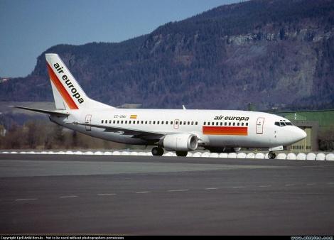 Air Europa Boeing B737-300