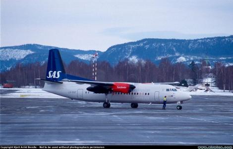 SAS Commuter Fokker F50