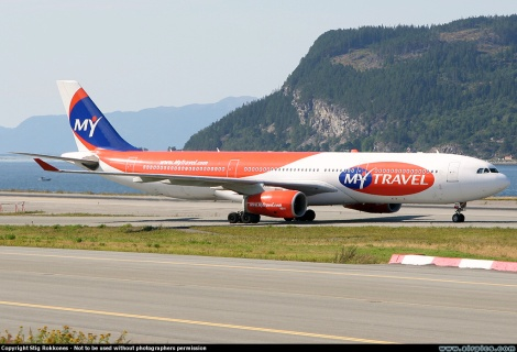 MyTravel Airways Airbus A330-300