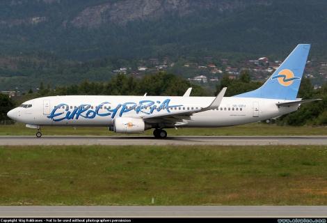 Eurocypria Boeing B737-800